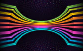 istock Glow Lines Abstract Background 1286929378