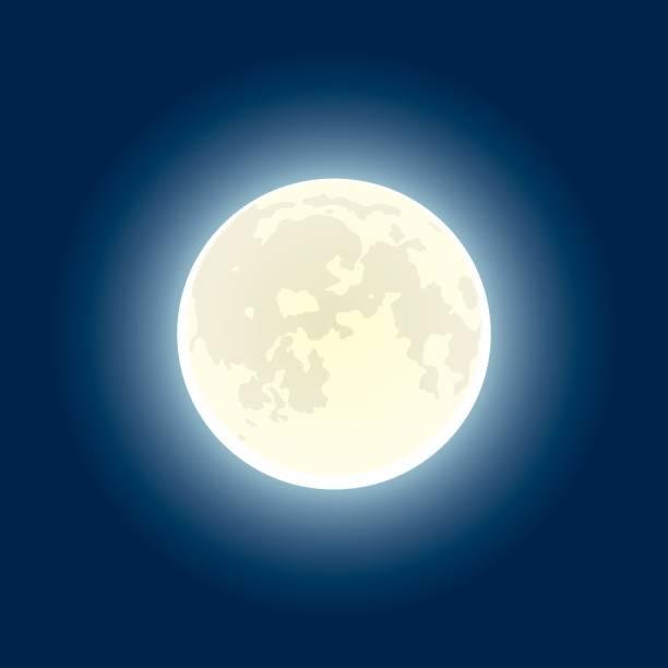 Moon – Vektorgrafik