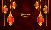 istock glowing garlands background,lights background,shiny background,red background,festival lights background,hanging lamps.stock illustration 1313258301