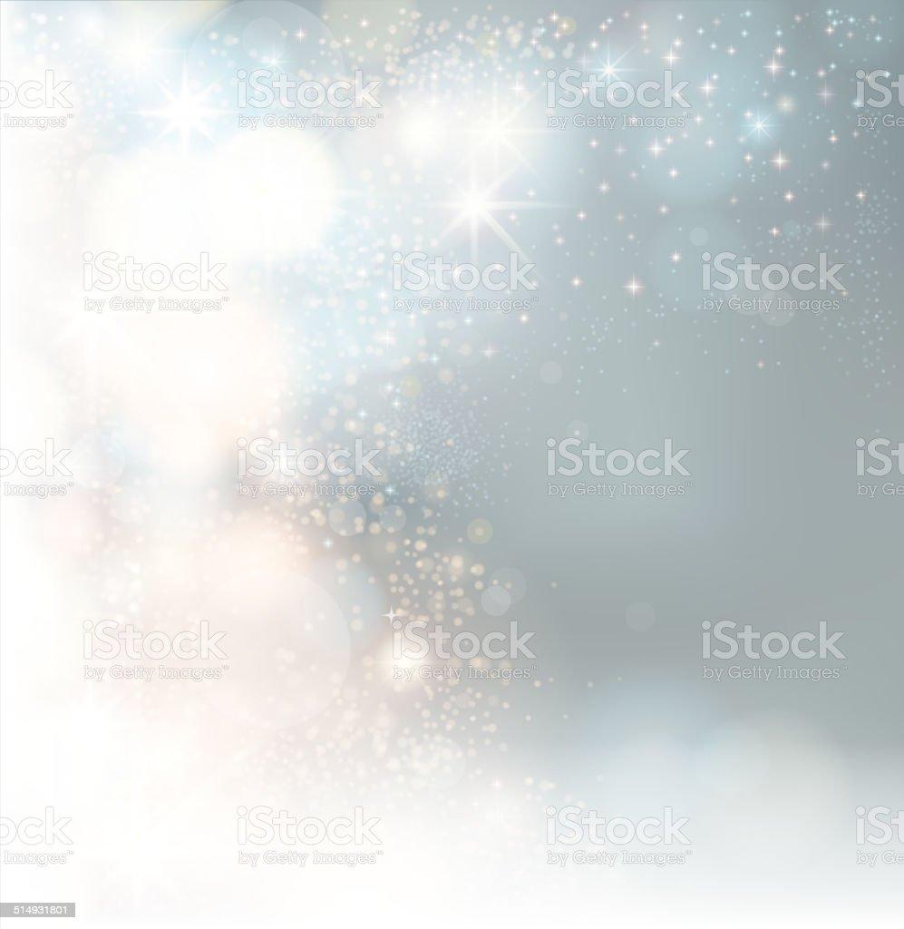 glowing greeting vector art illustration