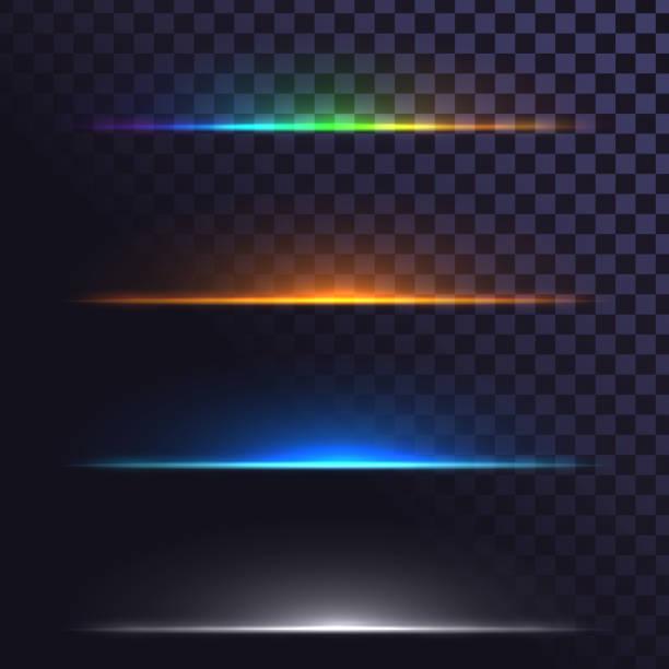leuchtende linien - gegenlicht stock-grafiken, -clipart, -cartoons und -symbole