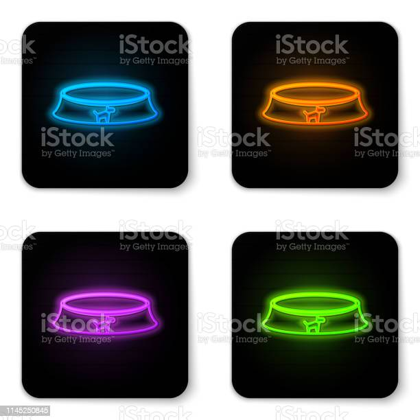 Glowing neon pet food bowl for cat or dog icon isolated on white vector id1145250845?b=1&k=6&m=1145250845&s=612x612&h=hsop9ux7xbbzfgxp3 wgk6wcdpbzc3ac5rmzxecuqzo=
