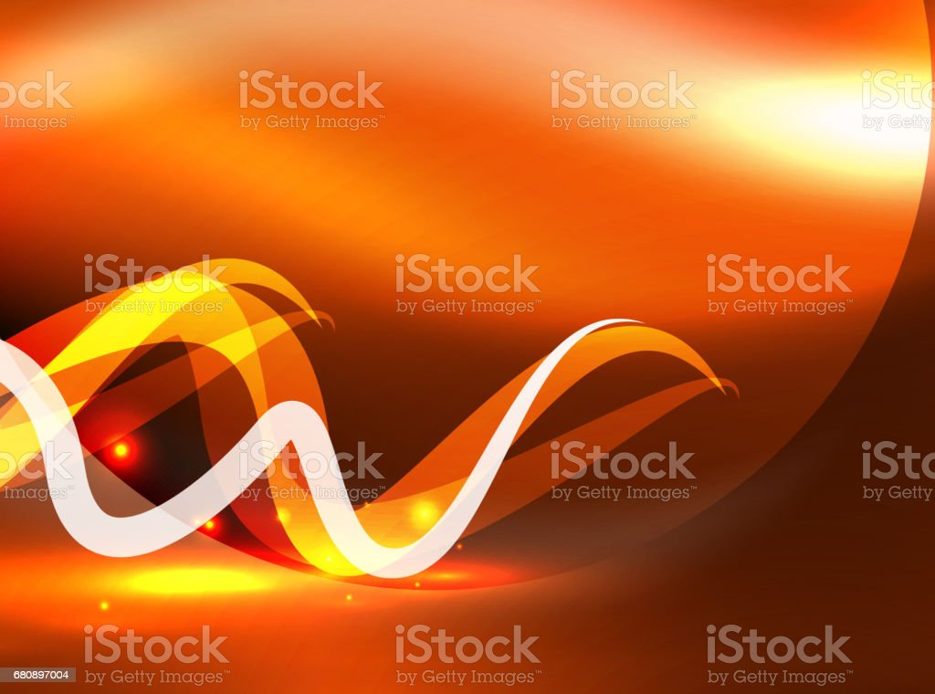 Glowing shiny wave background royalty-free glowing shiny wave background stock vector art & more images of abstract