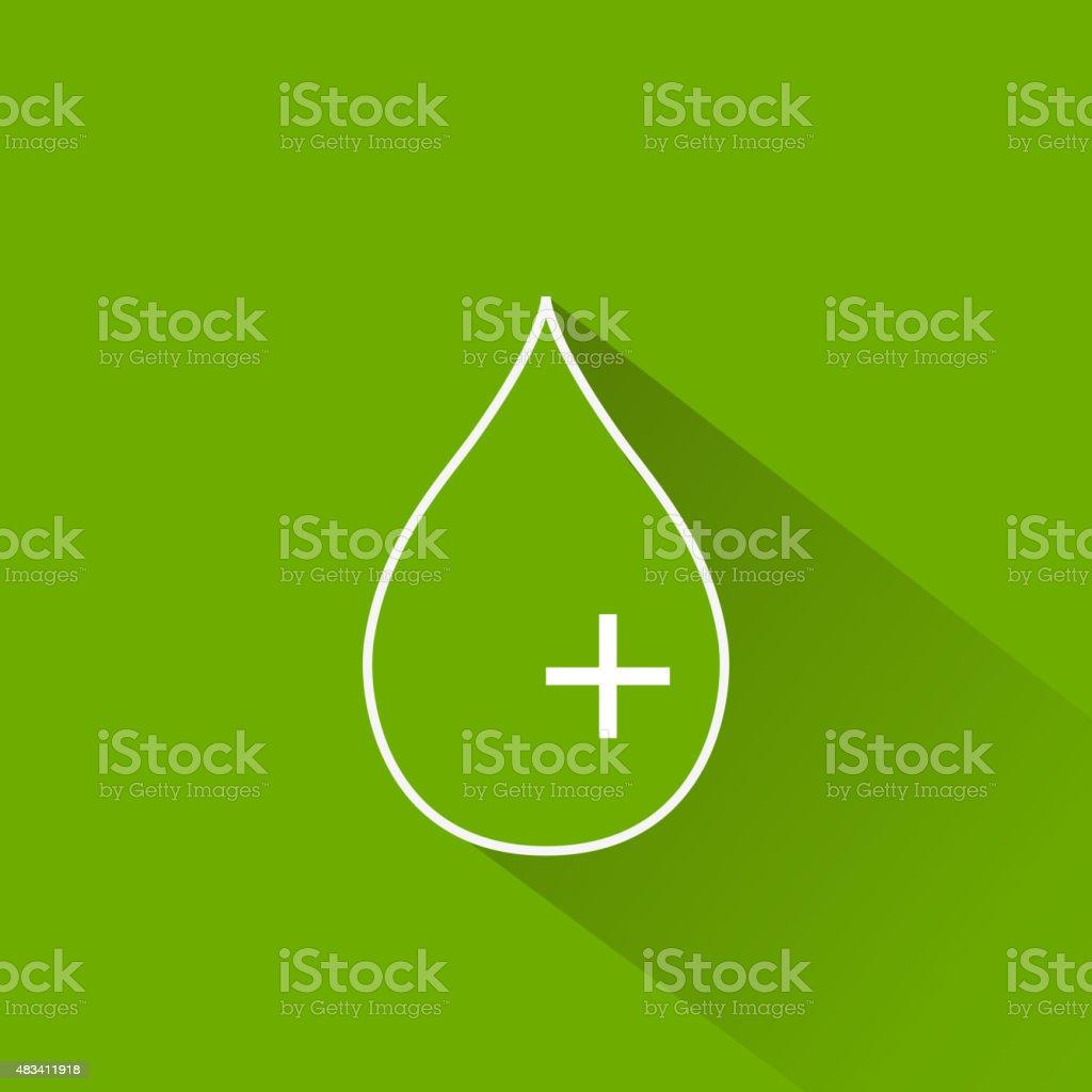 Glucose Icon vector art illustration