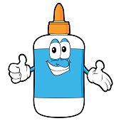 Glue Bottle Cartoon