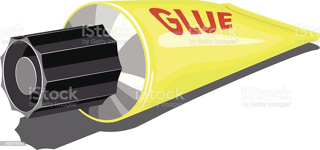 glue vector art illustration