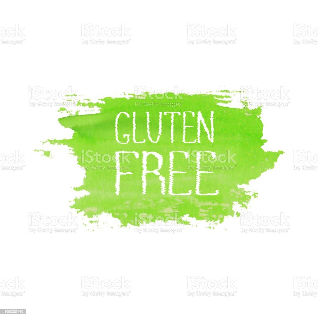 Ilustración de Plantilla De Diseño De Logo De Concepto De Gluten ...