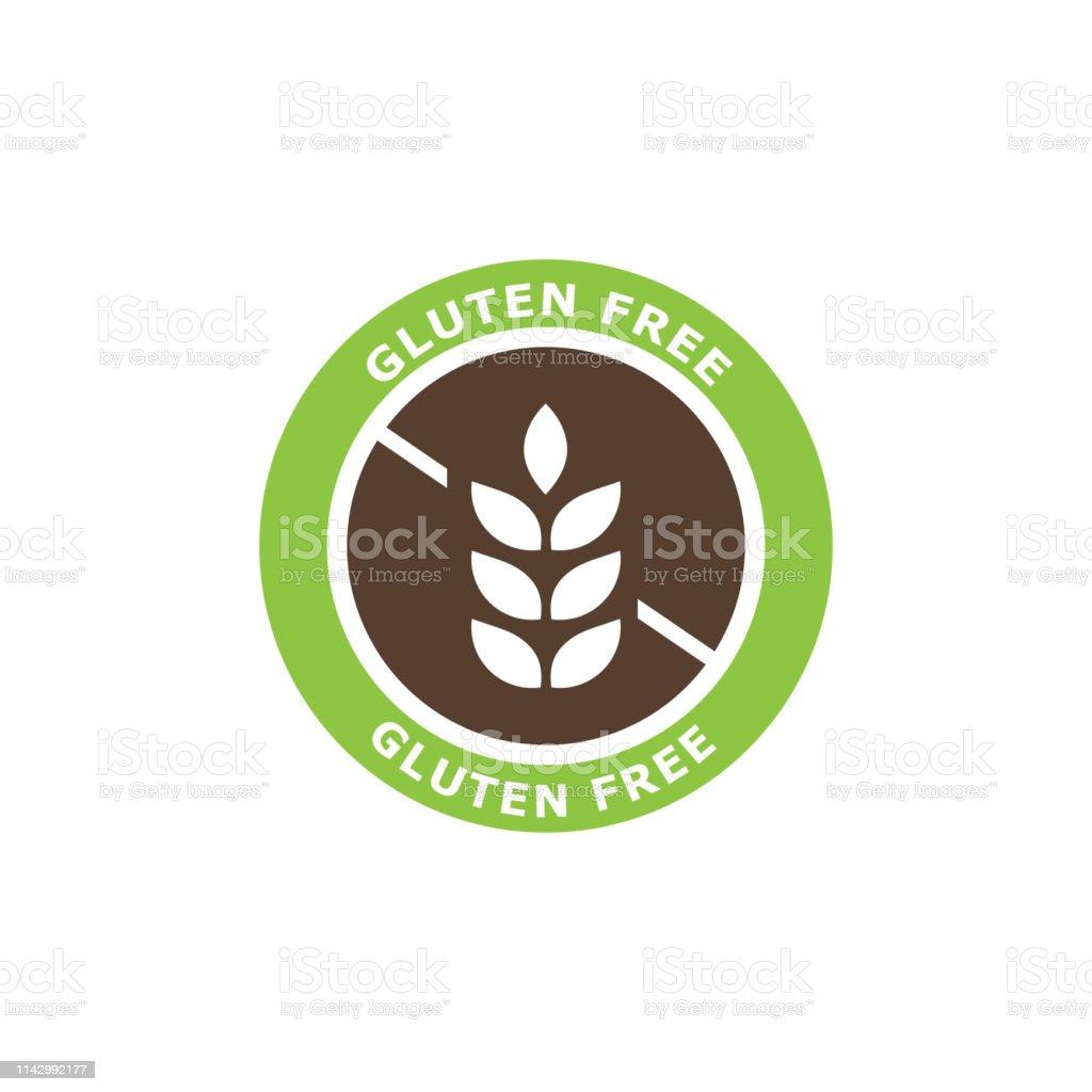 Gluten Free Icon Vector Illustration Stock Illustration