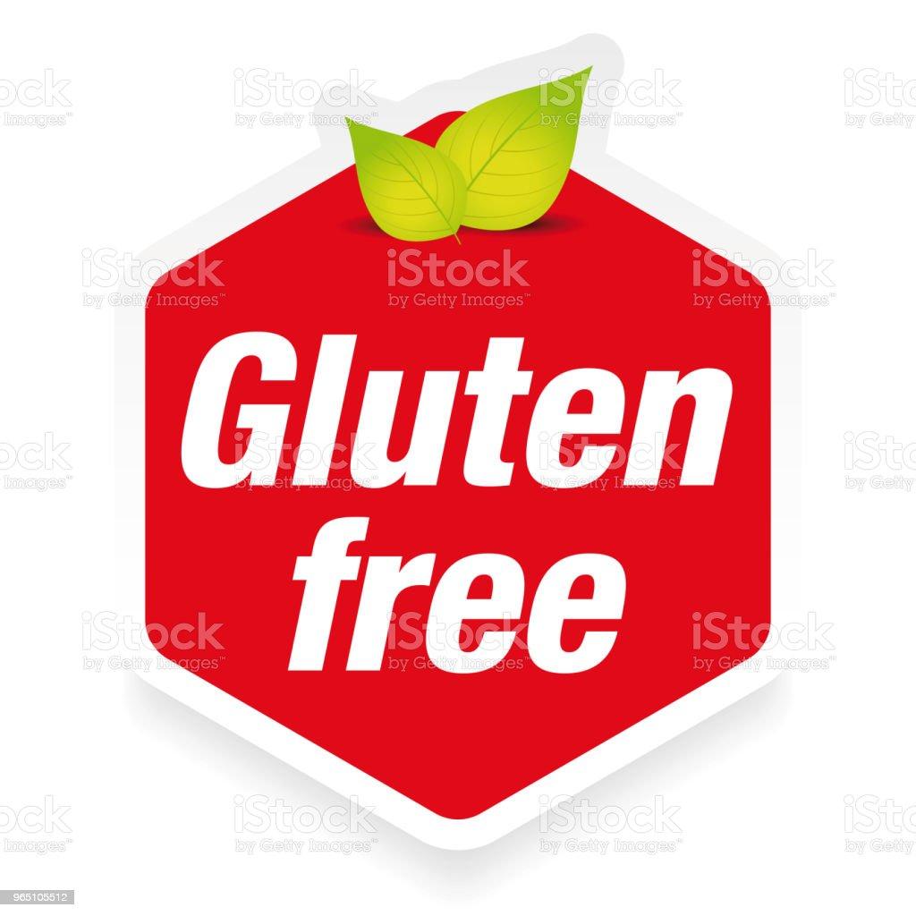 Gluten Free label sign gluten free label sign - stockowe grafiki wektorowe i więcej obrazów bez ludzi royalty-free