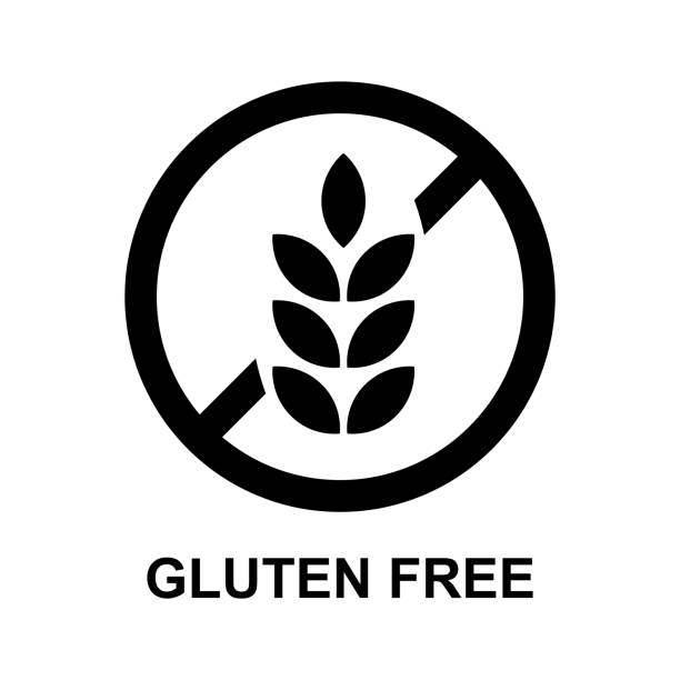 Best Gluten Free Icon Illustrations, Royalty-Free Vector
