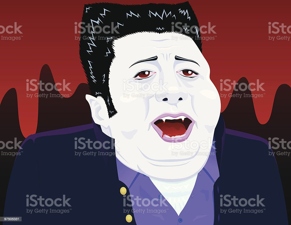 Glutton Vampire royalty-free glutton vampire stock vector art & more images of adult