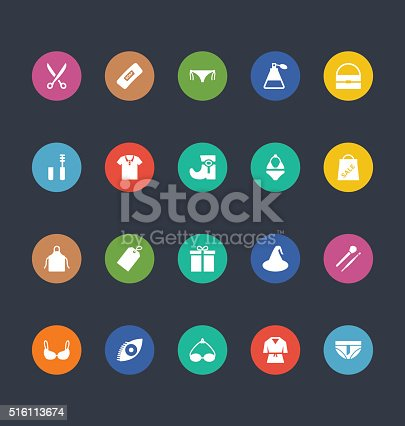 Glyphs Colored Vector Icons 41