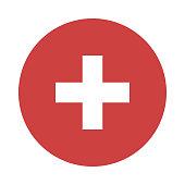 ADD Glyphs flat circle icons