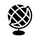 GLOBE Glyphs Vector Icon