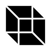 CUBE Glyphs Vector Icon