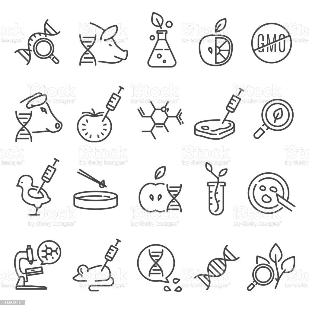 GVO-Icon-set – Vektorgrafik