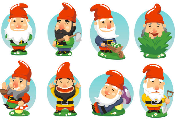 Gnome Clip Art: Best Gnome Illustrations, Royalty-Free Vector Graphics