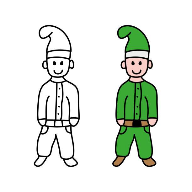 gnom - gartendekorationen stock-grafiken, -clipart, -cartoons und -symbole