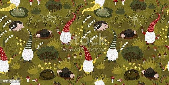 istock Gnomes in the garden 1326503142