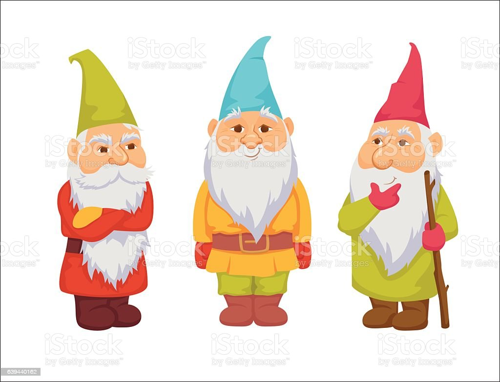 royalty free garden gnome clip art vector images illustrations rh istockphoto com garden gnome clipart free gnome clip art free
