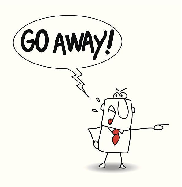 Royalty Free Go Away Clip Art, Vector Images