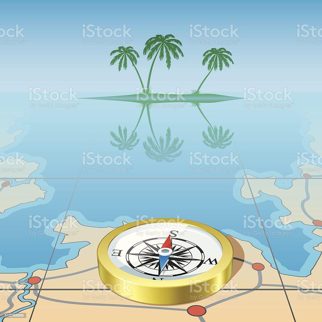 go tropics royalty-free stock vector art