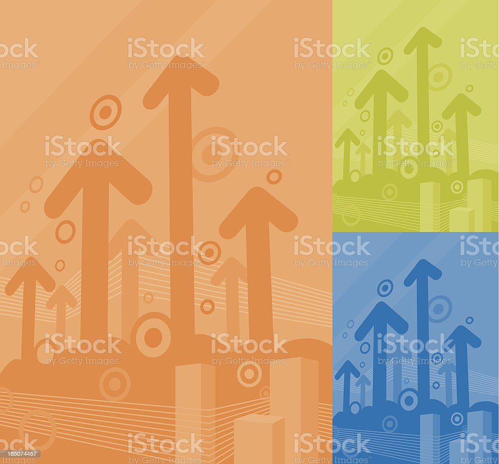 Go up. royalty-free stock vector art
