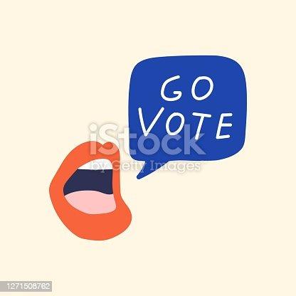 istock Go vote. 1271508762