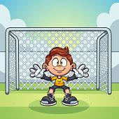 Goal keeper kid