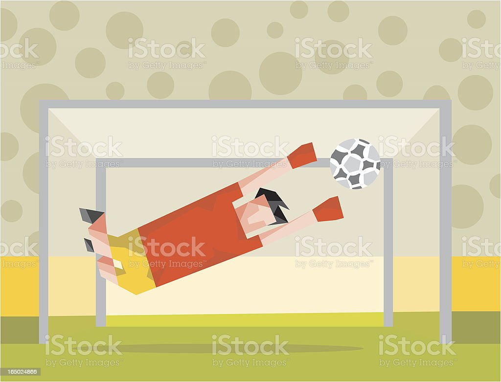 Goal keeping royalty-free goal keeping stock vector art & more images of aspirations