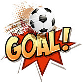 Drawn of vector soccer goal symbol. This file of transparent and created by illustrator CS6.