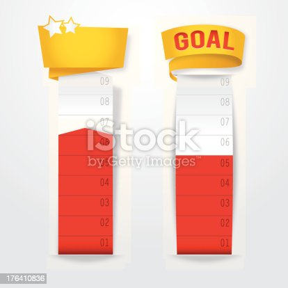 istock Goal Thermometers 176410836