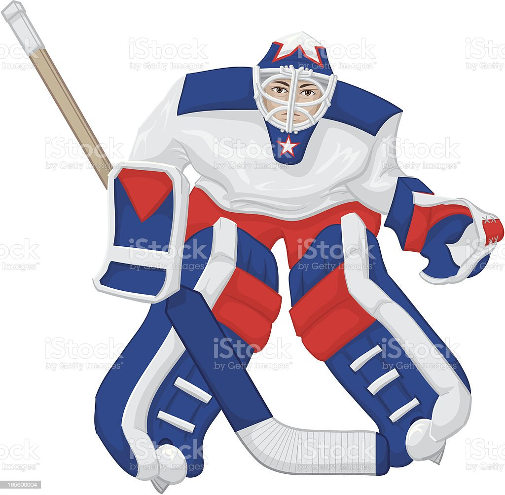 royalty free hockey goalie mask clip art vector images rh istockphoto com field hockey goalie clipart hockey goalie clip art