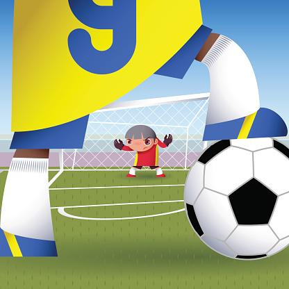 Goalie-vektorgrafik och fler bilder på Dag