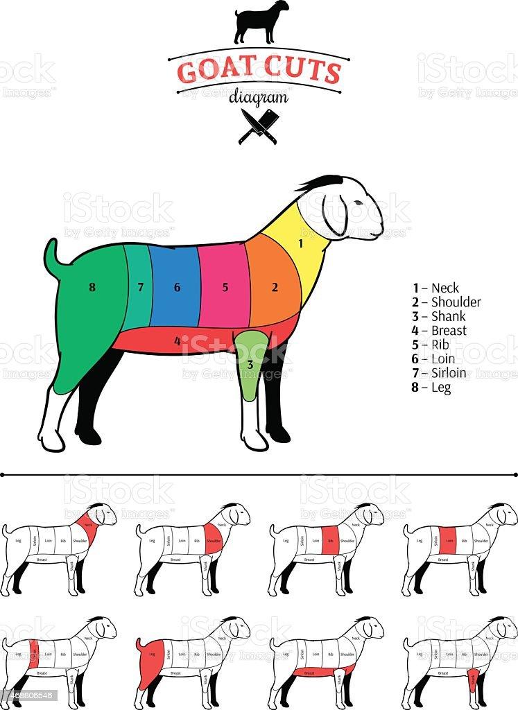 Breast Food Meat Sirloin Steak Goat Cuts