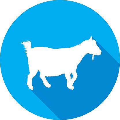 Goat Icon Silhouette