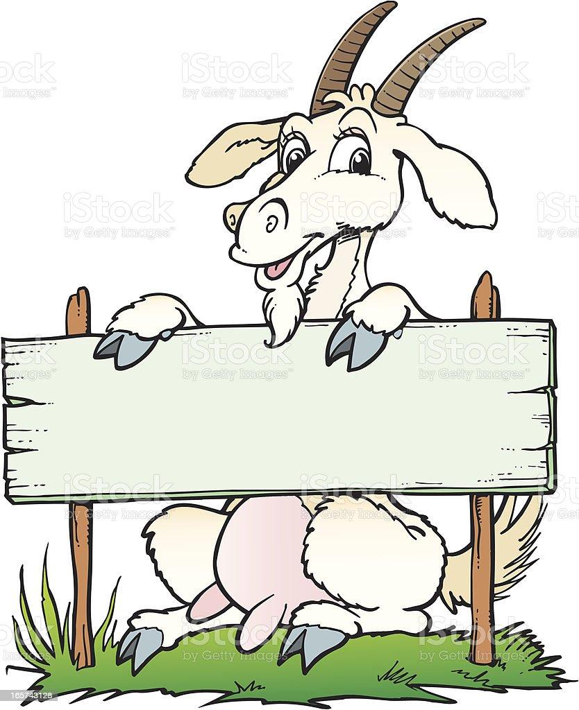 Goat royalty-free stock vector art