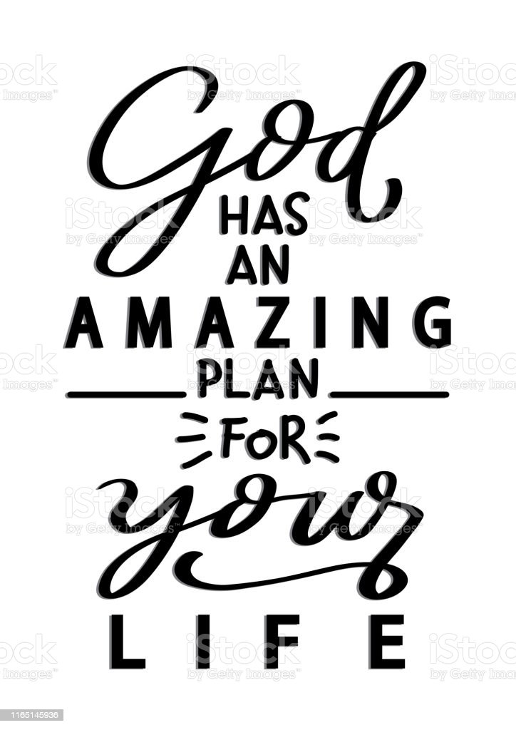 gods plan quotes illustrations royalty vector graphics