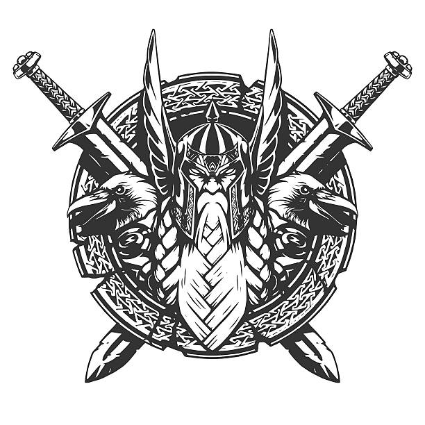 Royalty Free Viking Shield Clip Art Vector Images Illustrations