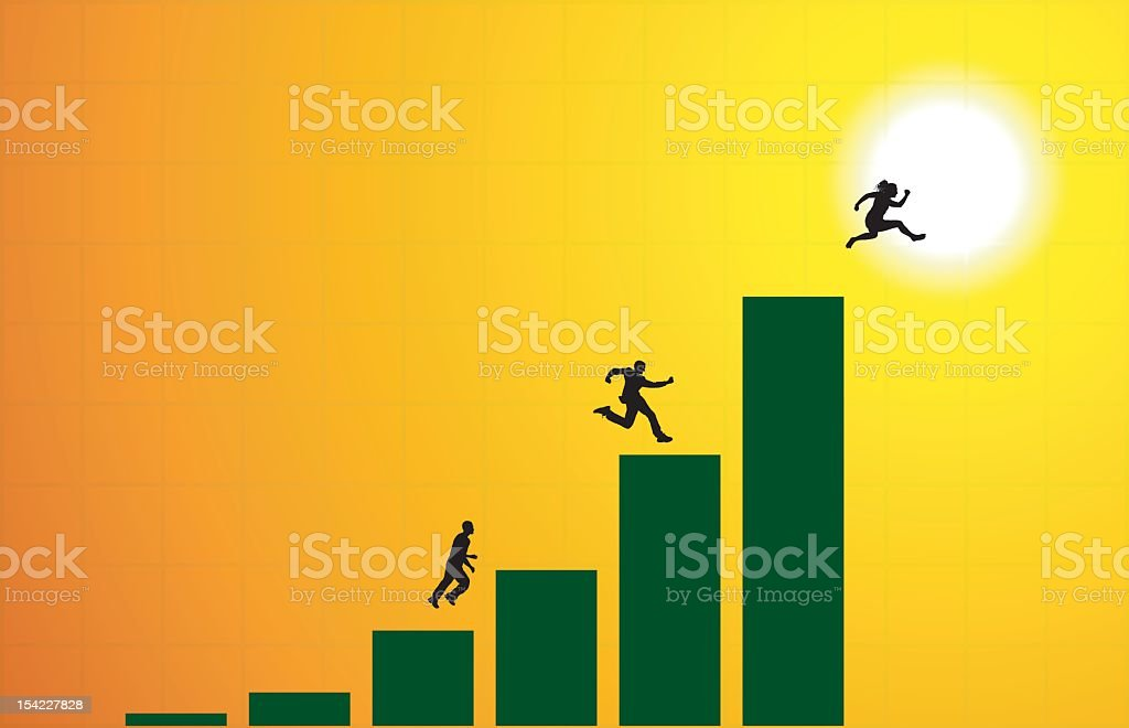 Going Up royalty-free going up stock vector art & more images of adult