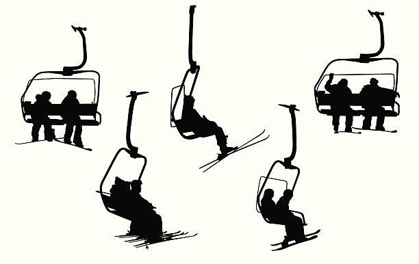 Skilift Vektorgrafiken Und Illustrationen Istock