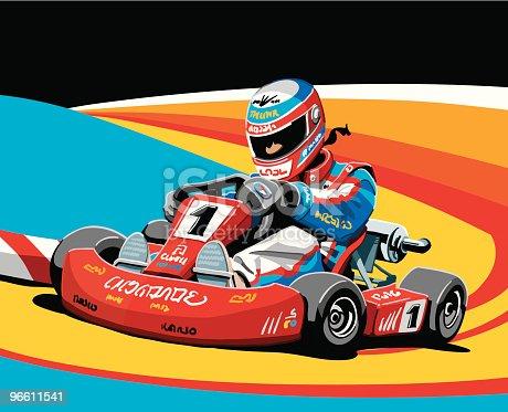 istock Go-Kart Racing 96611541