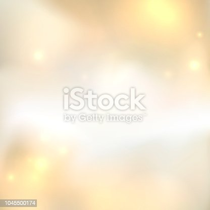 gold abstract background with light spots and stars magical new year christmas event style background stock vector art more images of abstract 1045500174