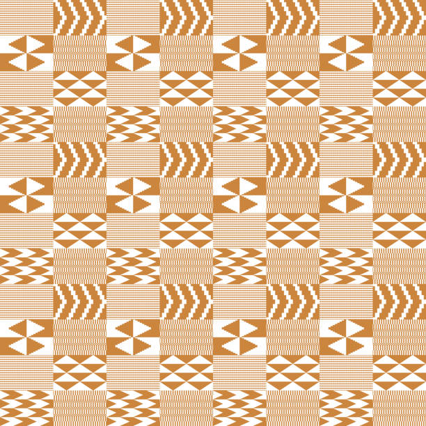 Kente Cloth Illustrations Royalty Free Vector Graphics