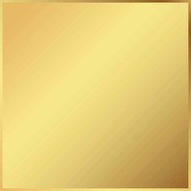 Gold background in frame. Light realistic, metallic golden gradient template. metal decoration. Vector Gold background in frame. Light realistic, metallic golden gradient template. metal decoration. Vector Illustration stability stock illustrations