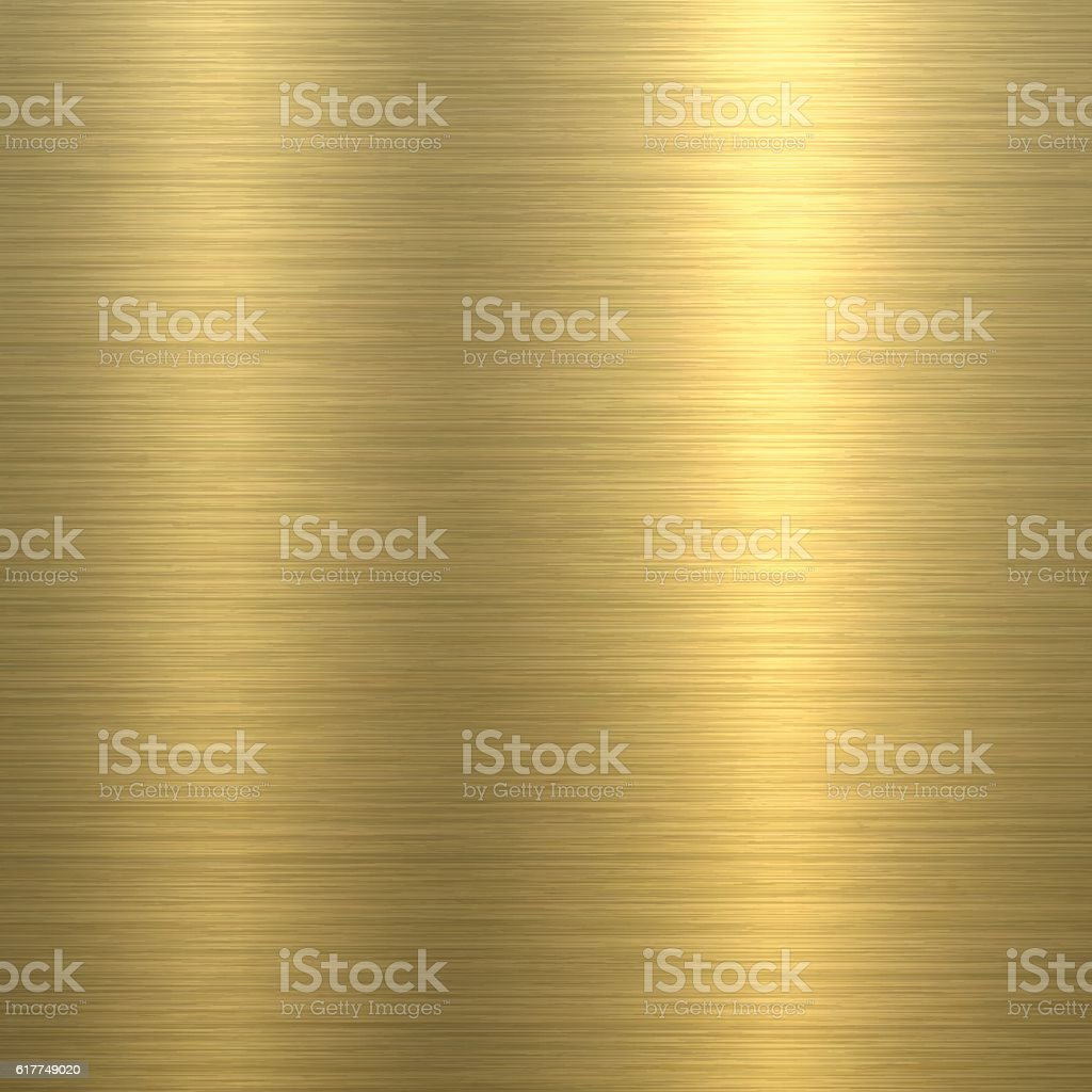 Gold Background - Metal Texture向量藝術插圖
