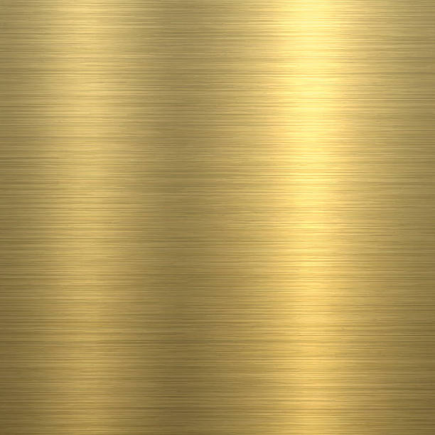 Gold Background - Metal Texture ベクターアートイラスト