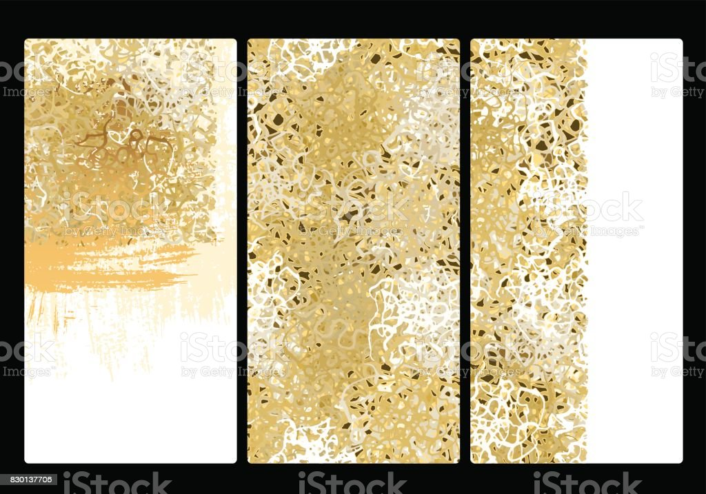 Gold background texture vector art illustration