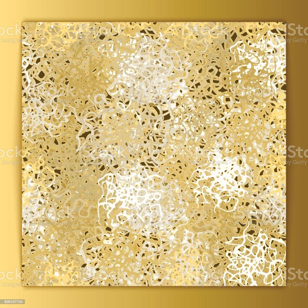 Gold Background vector art illustration