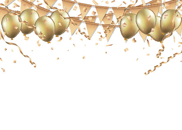 Top 60 Gold Balloon Clip Art, Vector Graphics and Illustrations - iStock